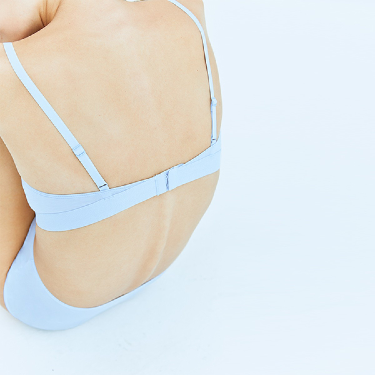 Pale Blue Sport Bra