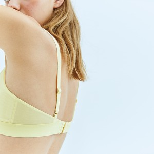 Yellow Triangle Bra