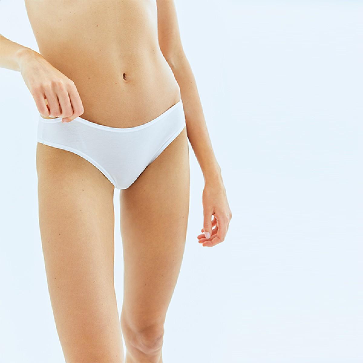 Beyaz Bikini Alt