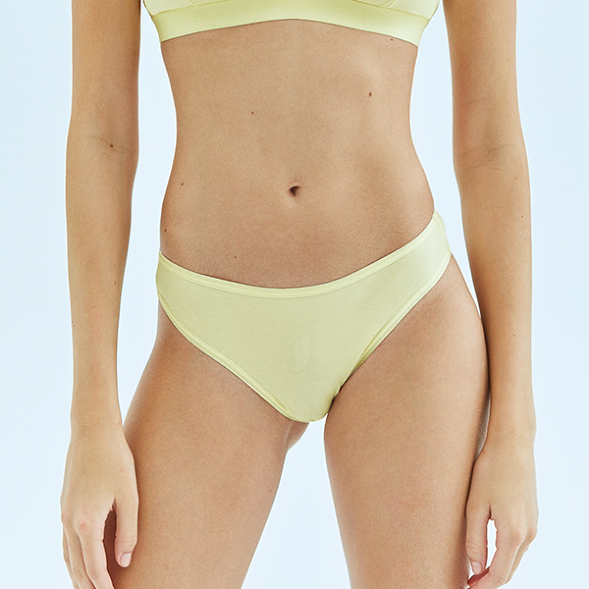 Sarı Bikini Alt