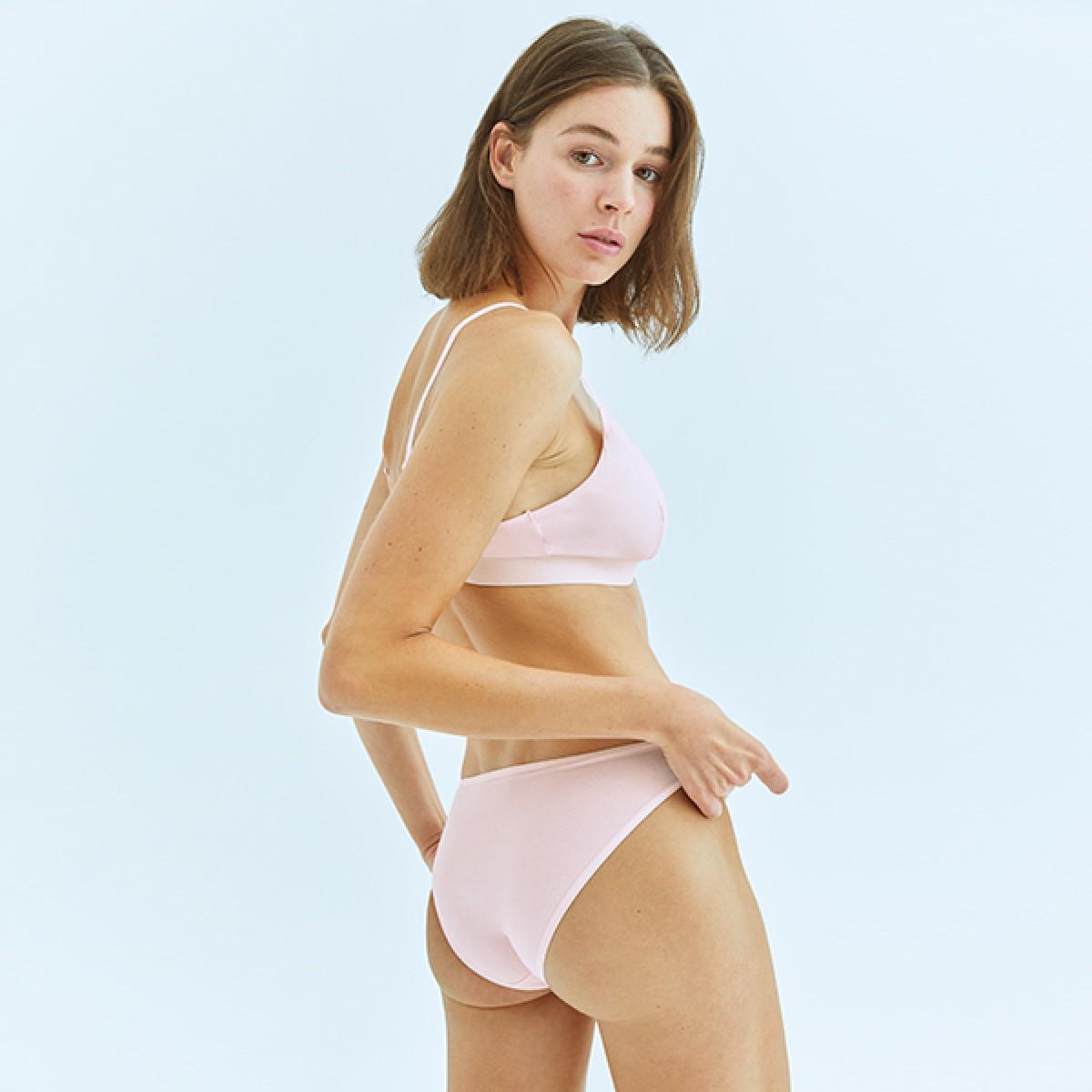 Pale Pink Bikini Bottom