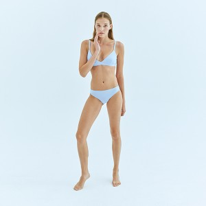 Pale Blue Brazilian Bottom