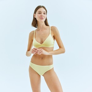 Yellow Brazilian Bottom